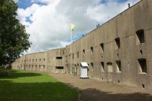 Fort Spijkerboor - Locatie Buitenkokers